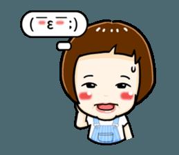 mini baby talk(International) sticker #12475787