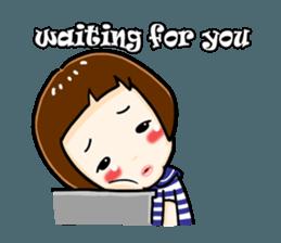 mini baby talk(International) sticker #12475788