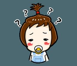 mini baby talk(International) sticker #12475793