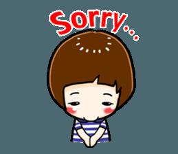 mini baby talk(International) sticker #12475796