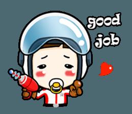 mini baby talk(International) sticker #12475797