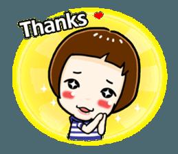 mini baby talk(International) sticker #12475798