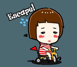 mini baby talk(International) sticker #12475799