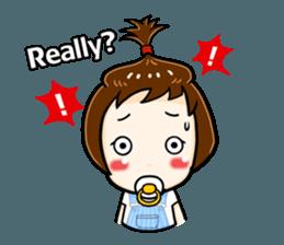 mini baby talk(International) sticker #12475804