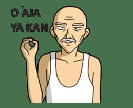 Solihin Si Kakek Kekinian animated sticker #12480366