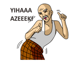 Solihin Si Kakek Kekinian animated sticker #12480367