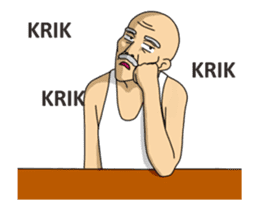 Solihin Si Kakek Kekinian animated sticker #12480372