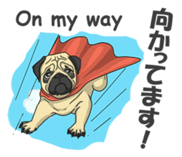 Fawn Pug2 sticker #12485088