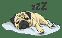 Fawn Pug2 sticker #12485101