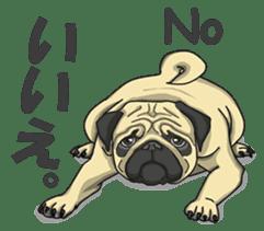 Fawn Pug2 sticker #12485102