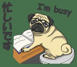 Fawn Pug2 sticker #12485112