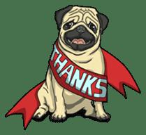 Fawn Pug2 sticker #12485122