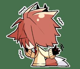 Fox boy sticker #12491647
