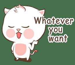 Meow Ouan (English) sticker #12492174