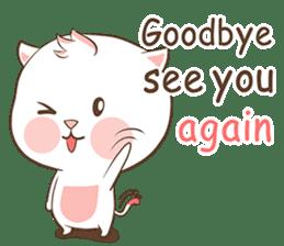 Meow Ouan (English) sticker #12492181