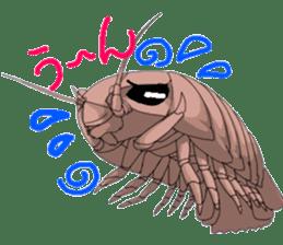 bathynomus giganteus/gusokutan sticker #12493296