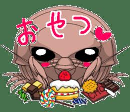 bathynomus giganteus/gusokutan sticker #12493309