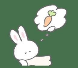 The fluffy bunny sticker 3 sticker #12504262