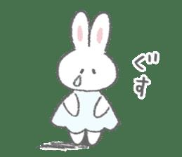 The fluffy bunny sticker 3 sticker #12504264