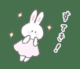 The fluffy bunny sticker 3 sticker #12504266