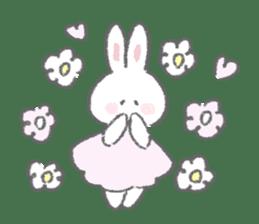 The fluffy bunny sticker 3 sticker #12504267