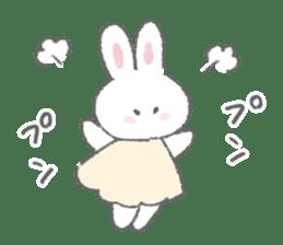 The fluffy bunny sticker 3 sticker #12504272