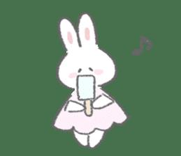 The fluffy bunny sticker 3 sticker #12504275