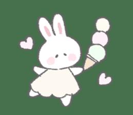 The fluffy bunny sticker 3 sticker #12504276