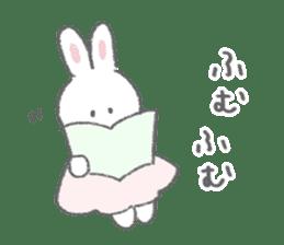 The fluffy bunny sticker 3 sticker #12504280
