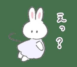 The fluffy bunny sticker 3 sticker #12504281