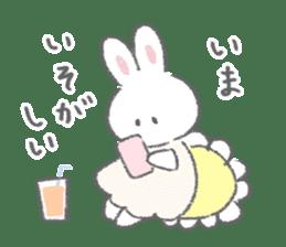 The fluffy bunny sticker 3 sticker #12504282