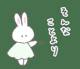 The fluffy bunny sticker 3 sticker #12504291
