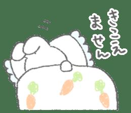 The fluffy bunny sticker 3 sticker #12504293