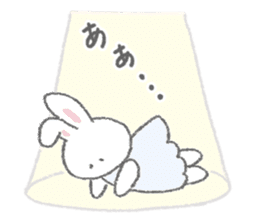 The fluffy bunny sticker 3 sticker #12504297