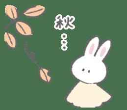 The fluffy bunny sticker 3 sticker #12504299