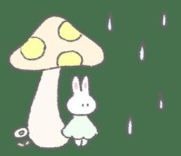The fluffy bunny sticker 3 sticker #12504300
