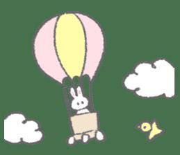 The fluffy bunny sticker 3 sticker #12504301