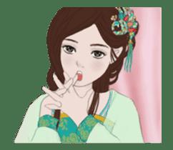 Single pretty--animated stickers2 sticker #12507796