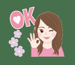 I LOVE PINK! sticker #12513470