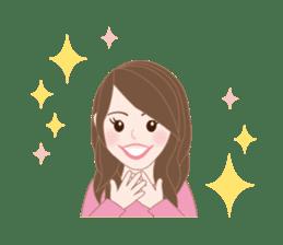 I LOVE PINK! sticker #12513473