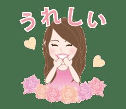 I LOVE PINK! sticker #12513477