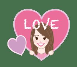 I LOVE PINK! sticker #12513486