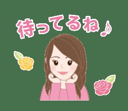 I LOVE PINK! sticker #12513491