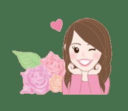 I LOVE PINK! sticker #12513499