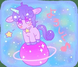 Pastel Unicorn. sticker #12518482