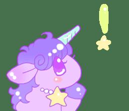 Pastel Unicorn. sticker #12518488