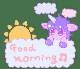 Pastel Unicorn. sticker #12518490