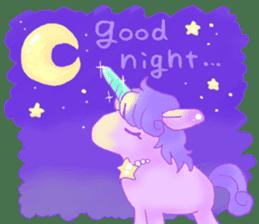 Pastel Unicorn. sticker #12518491