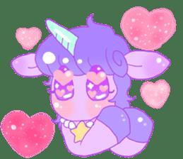 Pastel Unicorn. sticker #12518497
