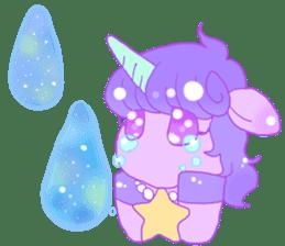Pastel Unicorn. sticker #12518500